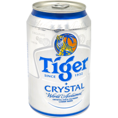 Bia Tiger Crystal 330ml/Lon